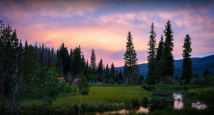 ROCKY MOUNTAIN NATIONAL PARK SERIES – PARK CAMPGROUNDS OPEN